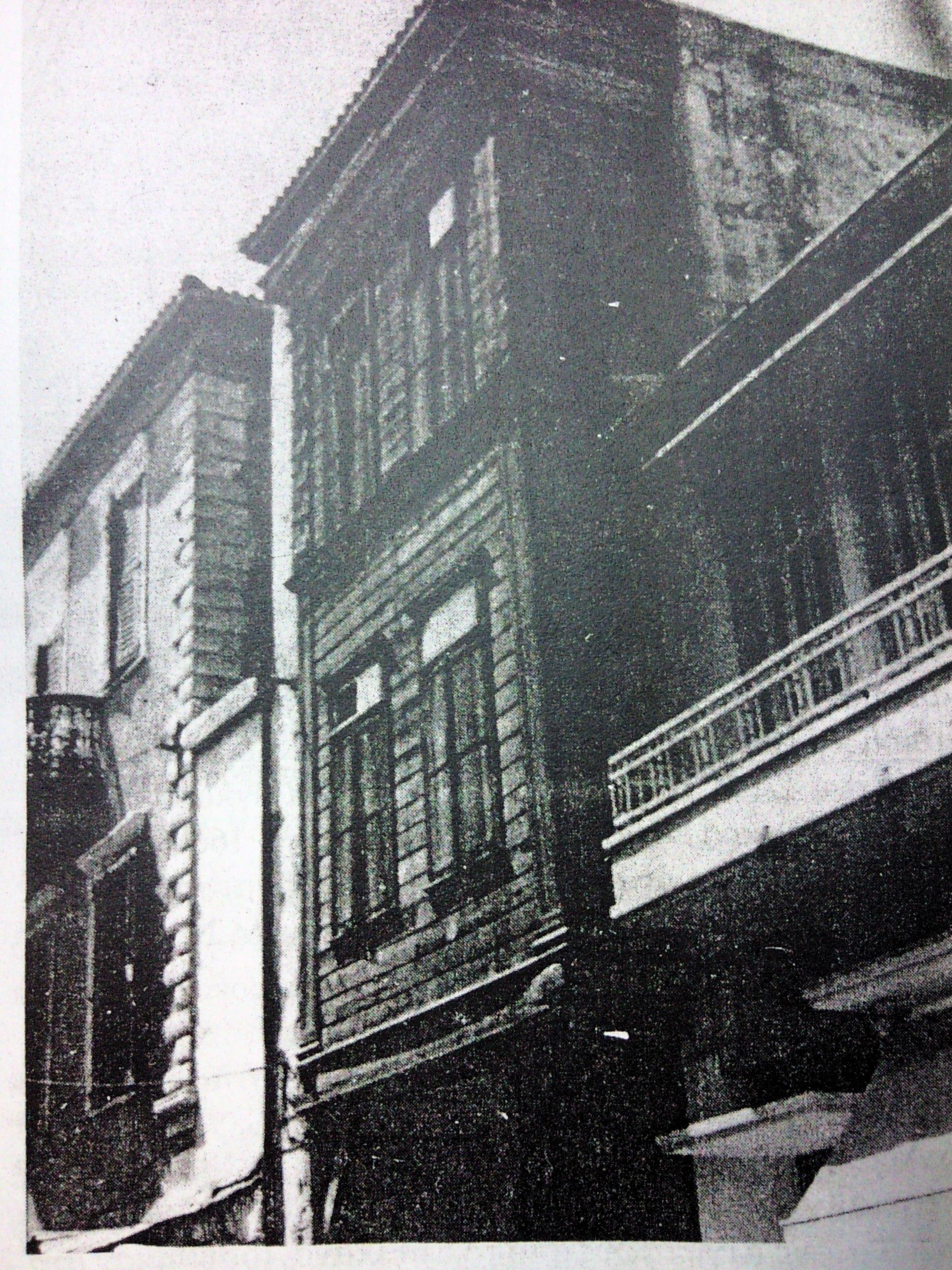 ^ Πρώτο κρατικό νοσοκομείο επι της οδού Αρκαδίου, όπως σώζεται σήμερα