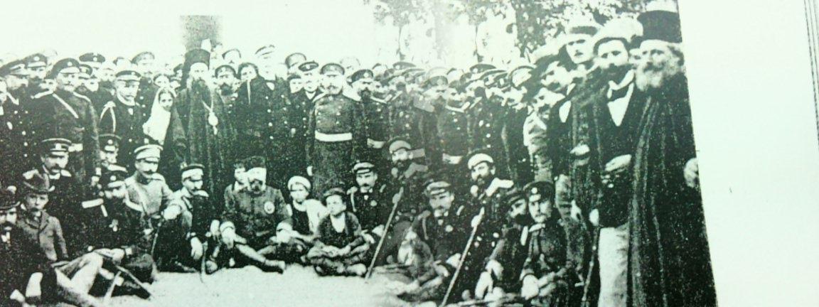 ^ Φωτο εποχής 1899 πιθανά απο την τελετή παράδοσης του Νοσοκομείου