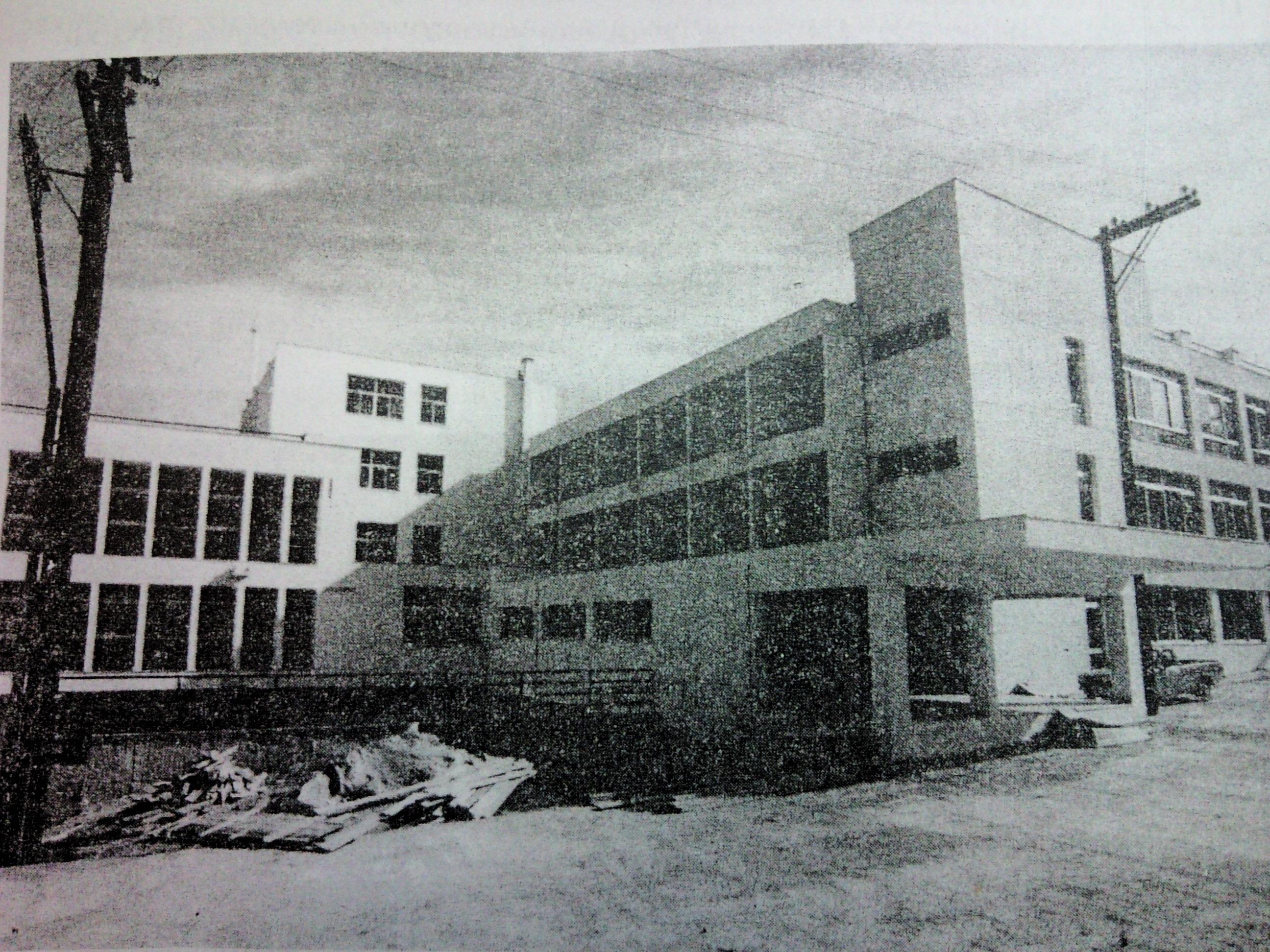 ^ Το νοσοκομείο το 1987